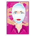 bandaged face vector image