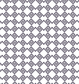 Black and white geometric intricate seamless vector image vector image