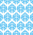 blue vintage seamless pattern vector image