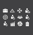 Business icon set bundle used best for