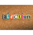 Election Concept vector image