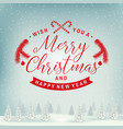 joy to world merry christmas and happy new vector image vector image