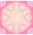 Lacy pink ornate seamless pattern vector image vector image