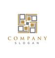 lp logo vector image vector image