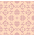 Neutral beige plant wallpaper vector image