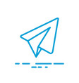 Paper aircraft logo icon
