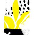 simple decorative handmade background vector image