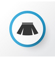 skirt icon symbol premium quality isolated vector image vector image