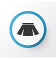 skirt icon symbol premium quality isolated vector image