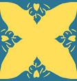 the moroccan mural decorative design art symbol vector image vector image