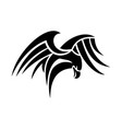 tribal eagle concept design vector image