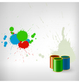 paint splash vector image