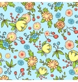 pattern flower print vector image