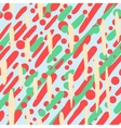 Pattern with random brushstrokes and dots vector image vector image