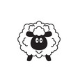 sheep icon design template isolated vector image vector image