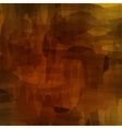 Brown Watercolor Pattern vector image