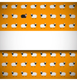 Seamless pattern with sheep vector image