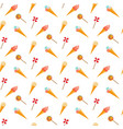 candy and ice cream seamless pattern vector image vector image