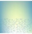 cornflower seamless border vector image