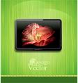 lcd plasma tv vector image