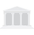 Courthouse vector image