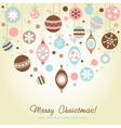 Beautiful design christmas greeting card vector | Price: 1 Credit (USD $1)