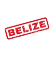 Belize Rubber Stamp vector image vector image