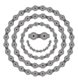 bicycle smile sun chain part vector image vector image