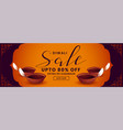 festival sale banner for happy diwali design vector image vector image