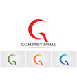 g logo and symbols template icons app vector image vector image