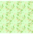 green apple seamless pattern vector image vector image