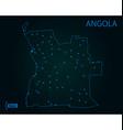 map angola world map vector image vector image