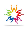 people group together vector image vector image