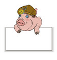 pig 10 vector image vector image
