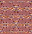 seamless pattern with colorful abstract shape vector image vector image