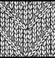 doodles zigzag chevron stitch pattern vector image