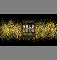 golden dust explosion glitter confetti great for vector image vector image