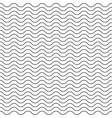 seamless abstract pattern thin line waves vector image vector image