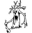 tree - halloween set vector image