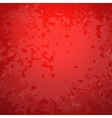 Abstract red paper background with bright center vector image