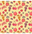 Berry background drawing vector image