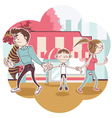 Child Custody vector image vector image