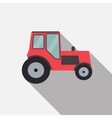 Ftat Tractor vector image vector image