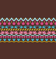 happy easter ikat seamless pattern vector image vector image