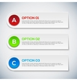 Modern 3d infographics options Abstract 3D digital