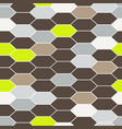 mosaic tiles seamless pattern vector image vector image