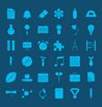 school glyph web icons vector image