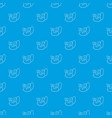 studio microphone pattern seamless blue vector image vector image