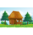 A native house at the hill vector | Price: 1 Credit (USD $1)