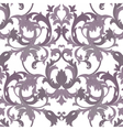 Exquisite Baroque element damask pattern vector image vector image